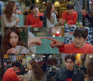 "JTBC 수목드라마 '런 온' 임시완X신세경X강태오, 질투가 오가는 ""탕"" 분당 최고 시청률 4.4% 달성, 최고의 1분 등극!"