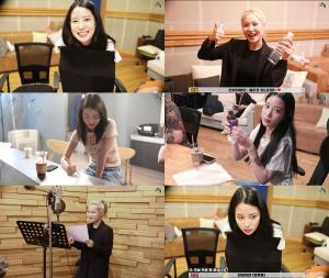 베리굿, 신곡 녹음실 비하인드 전격 공개