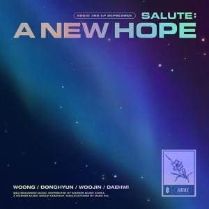 AB6IX (에이비식스), 리패키지 앨범 'SALUTE : A NEW HOPE'  발매