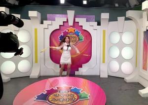 가수 이지요, 쌍절곤 매력 '뿜뿜'
