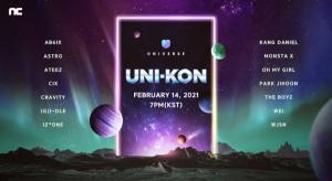 '유니버스' 2월 14일 온라인 라이브 콘서트 'UNI-KON' 개최