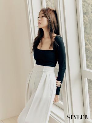 김효진, 변함없는 아름다움 돋보이는 화보 공개