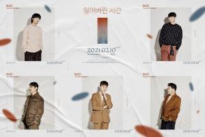 버즈, 미니앨범 '잃어버린 시간' 두 번째 콘셉트 포토 공개